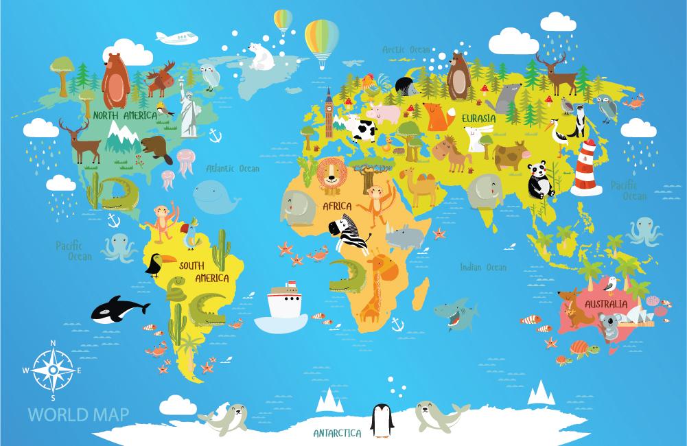 картинка карта мира печать может